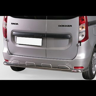 DACIA DOKKER 12- PROTECTION ARRIERE EN INOX, DIAM 60MM Dokker 400,00 € product_reduction_percent