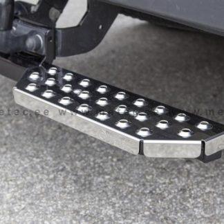 FIAT DOBLO 2010+ MARCHE-PIEDS DOUBLE L1200 EN INOX, SE FIXE SUR L'ATTELAGE METEC II 2010-2015 170,00 € product_reduction_percent
