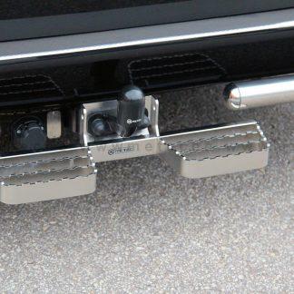 FIAT DOBLO 2010+ MARCHE-PIEDS DOUBLE L600 EN INOX, SE FIXE SUR L'ATTELAGE METEC II 2010-2015 150,00 € product_reduction_percent