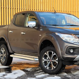 FIAT FULLBACK 2016+ MARCHE-PIEDS INOX POUR DOUBLE CABINE, DIAM 76MM METEC FULLBACK 16- 710,00 € product_reduction_percent