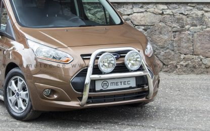 FORD CONNECT 14- TOURNEO PARE BUFFE EN INOX, BULL BAR DIAM 60, SUPPORTS LONGUES PORTEES METEC II 2013+ 560,00 € product_reduc...