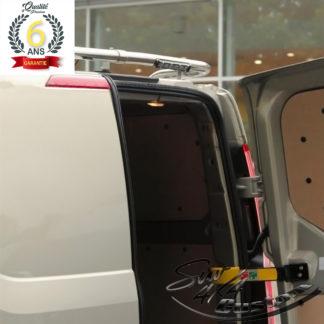 RAMPE DE TOIT INOX AVEC LED SUR FORD TRANSIT CUSTOM 2013-2017