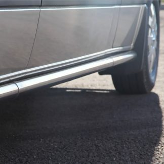 MERCEDES-BENZ SPRINTER 906 2007-2018 L1 PROTECTIONS LATERALES HOMOLOGUEES INOX, SIDE BARS DIAM 60MM METEC W906 2006-2013 390,...