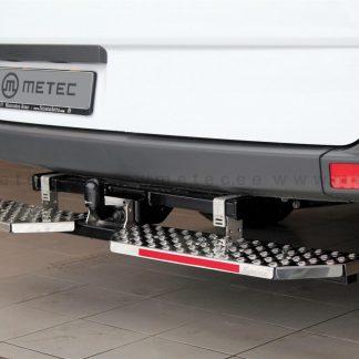 RENAULT TRAFIC 14- MARCHE-PIEDS DOUBLE L1700 EN INOX, SE MONTE SUR L'ATTELAGE METEC Trafic 330,00 € product_reduction_percent