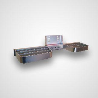 MAN TGE 17- MARCHE-PIEDS DOUBLE INOX L600, TOW STEPS SE FIXE DIRETCEMENT SUR L'ATTELAGE METEC MAN 150,00 € product_reduction_...