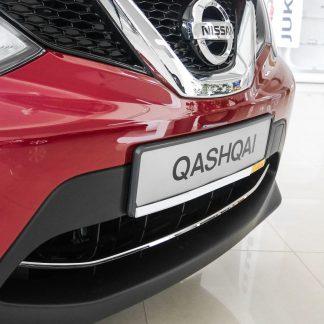 Pour Nissan Qashqai 2 2009-2013 Chrome poignée de porte capsules panneaux acier inoxydable 4tür 8tlg