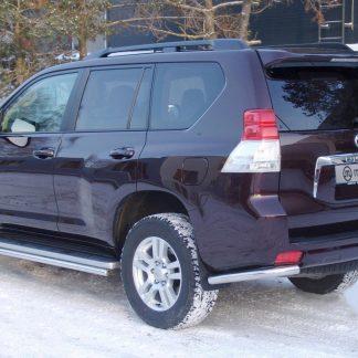 TOYOTA LC 150 09-13 PROTECTION ARRIERE INOX, REAR BAR DIAM 60 METEC Toyota 252,80 €
