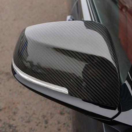 COQUILLES DE RETROVISEUR (FIBRE DE CARBONE) SUR BMW 1 F20 2011+