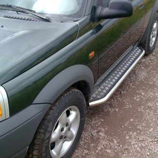 LAND ROVER FREELANDER 1998-2003 MARCHE-PIEDS INOX PLAT / PROTECTIONS LATERALES I 1996-2006 339,00 €