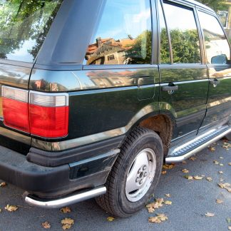 LAND ROVER RANGE ROVER 1994–2002 MARCHE-PIEDS INOX PLAT / PROTECTIONS LATERALES II 1994-2002 339,00 €