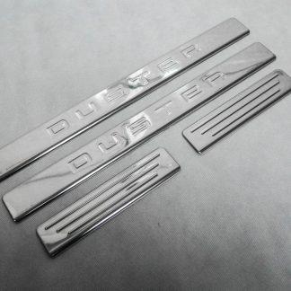 DACIA DUSTER 2010-2017 SEUILS DE PORTE INOX CHROME 4PS METEC Duster 39,90 €