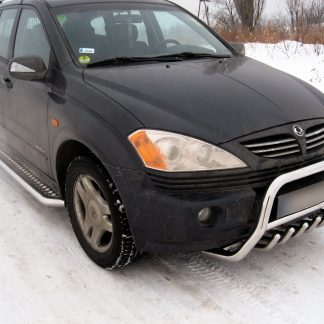 SSANGYONG KYRON 2005+ MARCHE-PIEDS INOX PLAT / PROTECTIONS LATERALES Kyron 339,00 €