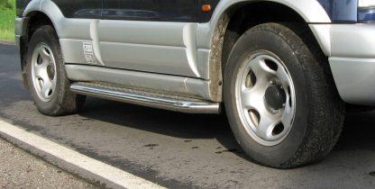 SUZUKI GRAND VITARA 1998-2005 MARCHE-PIEDS INOX PLAT / PROTECTIONS LATERALES Grand Vitara 339,00 €