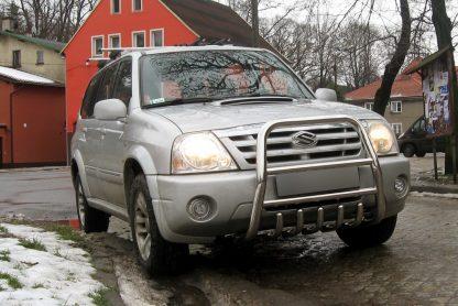 SUZUKI XL-7 2001-2006 PARE-BUFFLE HAUT AVEC GRILLE DE PROTECTION CARTER EN INOX Suzuki 429,00 €
