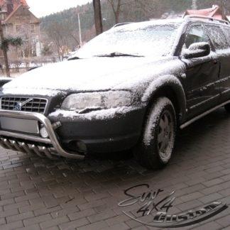 VOLVO XC70 1999-2007 PARE-BUFFLE BAS AVEC GRILLE DE PROTECTION CARTER EN INOX Volvo 389,00 €