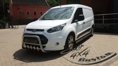 FORD TRANSIT CONNECT 2012+ PARE-BUFFLE BAS AVEC GRILLE DE PROTECTION CARTER INOX II 2013+ 389,00 €