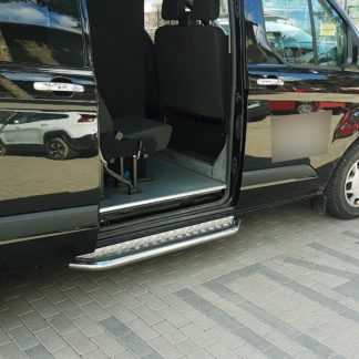 FORD TRANSIT CUSTOM 2012+ MARCHE-PIEDS INOX PLAT / PROTECTIONS LATERALES MARCHE PIEDS / SIDE STEPS 339,00 €