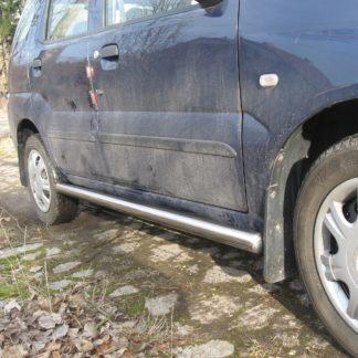 SUBARU JUSTY MK3 PROTECTIONS LATERALES INOX DIAM 60MM, SIDE BAR Subaru 330,00 €