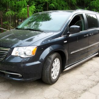 CHRYSLER GRAND VOYAGER 2008+ PROTECTIONS LATERALES INOX DIAM 60MM, SIDE BAR Chrysler 295,00 €