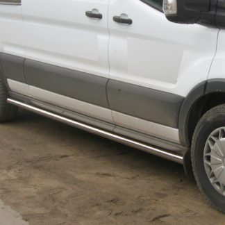 FORD TRANSIT 2013+ PROTECTIONS LATERALES INOX DIAM 60MM, SIDE BAR 2014+ 330,00 €