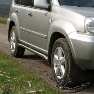 NISSAN X-TRAIL 2001-2006 PROTECTIONS LATERALES INOX DIAM 60MM, SIDE BAR I T30 2001-2007 330,00 €