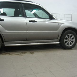 SUBARU FORESTER 2006-2007 PROTECTIONS LATERALES EN INOX DIAM 60MM, SIDE BAR II 2002-2008 330,00 €
