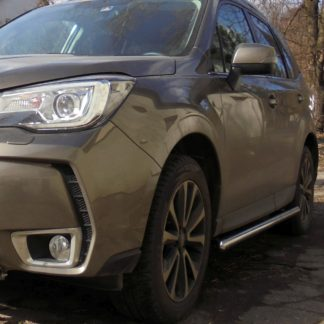 SUBARU FORESTER 2013- PROTECTIONS LATERALES EN INOX DIAM 60MM, SIDE BAR IV 2013+ 330,00 €