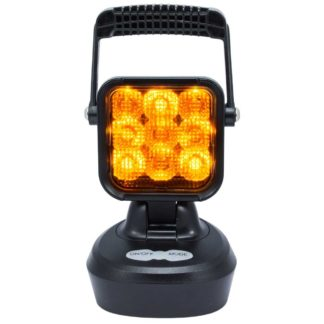 FEU DE TRAVAIL LED - SWEDSTUFF ED 12-24V DC, 18W, magnet, warning light function (orange) ECLAIRAGE AUTO 73,50 €