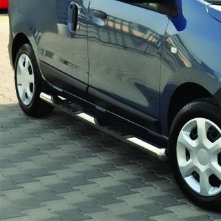DACIA DOKKER - MARCHE-PIEDS LATERALES EN INOX 4 MARCHES - BB005 METEC Dacia 390,00 €
