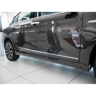 FIAT TIPO 2015- BAGUETTE PORTE LATÉRALE INOX CHROME 4 PS METEC Tipo 79,90 €