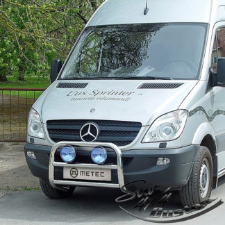 PARE BUFLE, BULL BAR INOX DIAM 60MM - MERCEDES-BENZ SPRINTER 2007 - 2018 METEC Sprinter 399,00 €