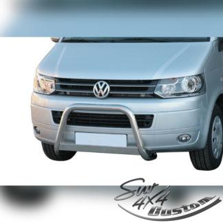 PARE-BUFFLE HOMOLOGUÉ EN INOX SUR VW T5 2010-2015