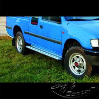 MARCHE-PIEDS S50 ALUMINIUM SUR ISUZU PICK UP 1999