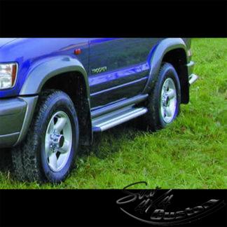 MARCHE-PIEDS S50 ALUMINIUM SUR ISUZU TROOPER 1998-1999