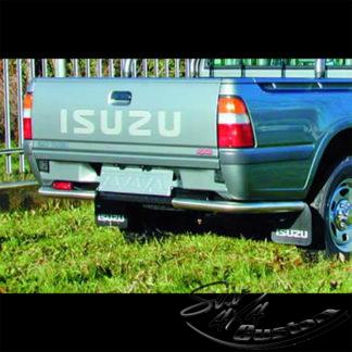 PROTECTION ARRIERE INOX SUR ISUZU PICK UP 1999