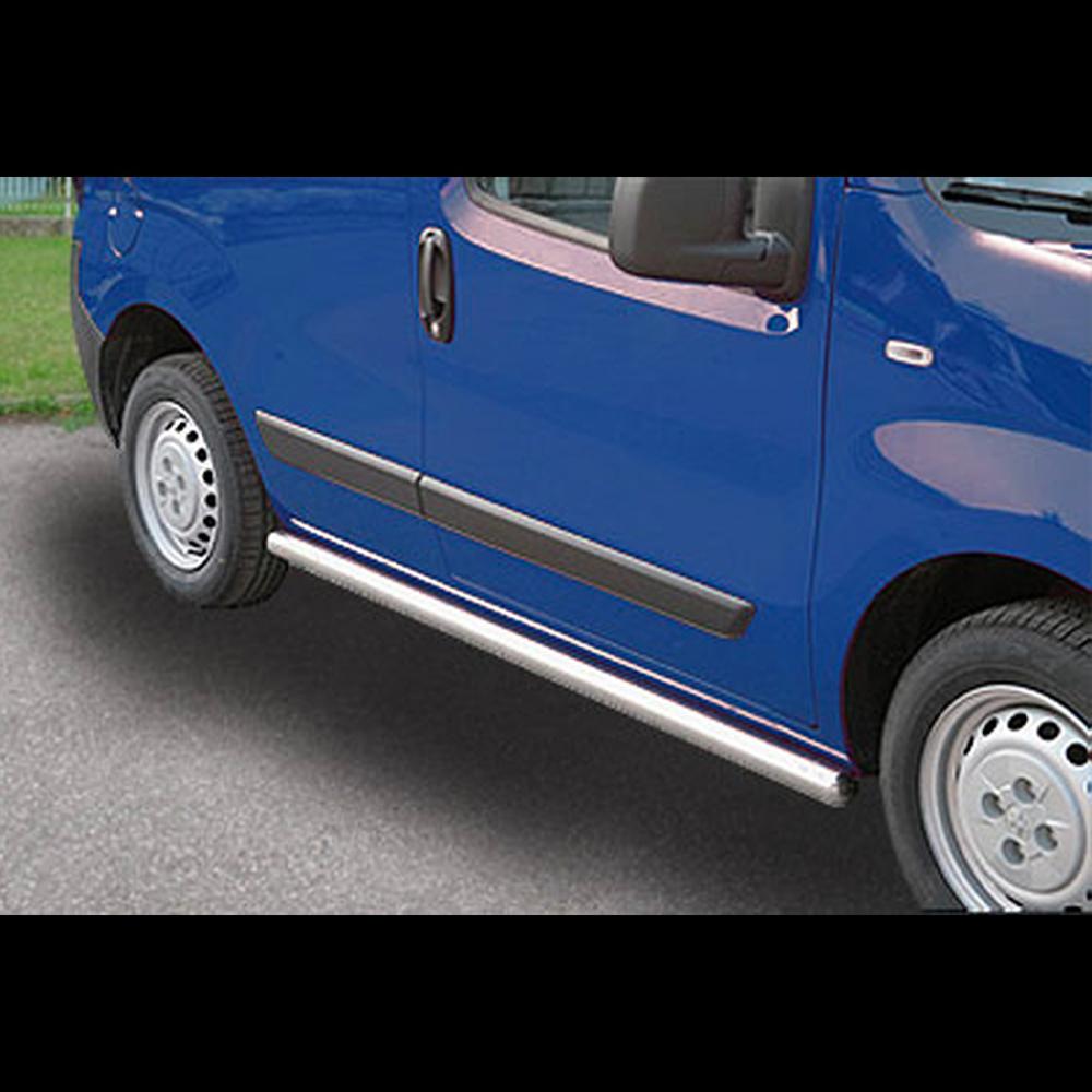 PROTECTION LATERALE INOX SUR FIAT FIORINO 2008+