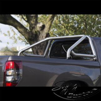 ARCEAU DE BENNE AVEC BARRE EN INOX MAT SUR MITSUBISHI L200 MY16 DOUBLE CAB