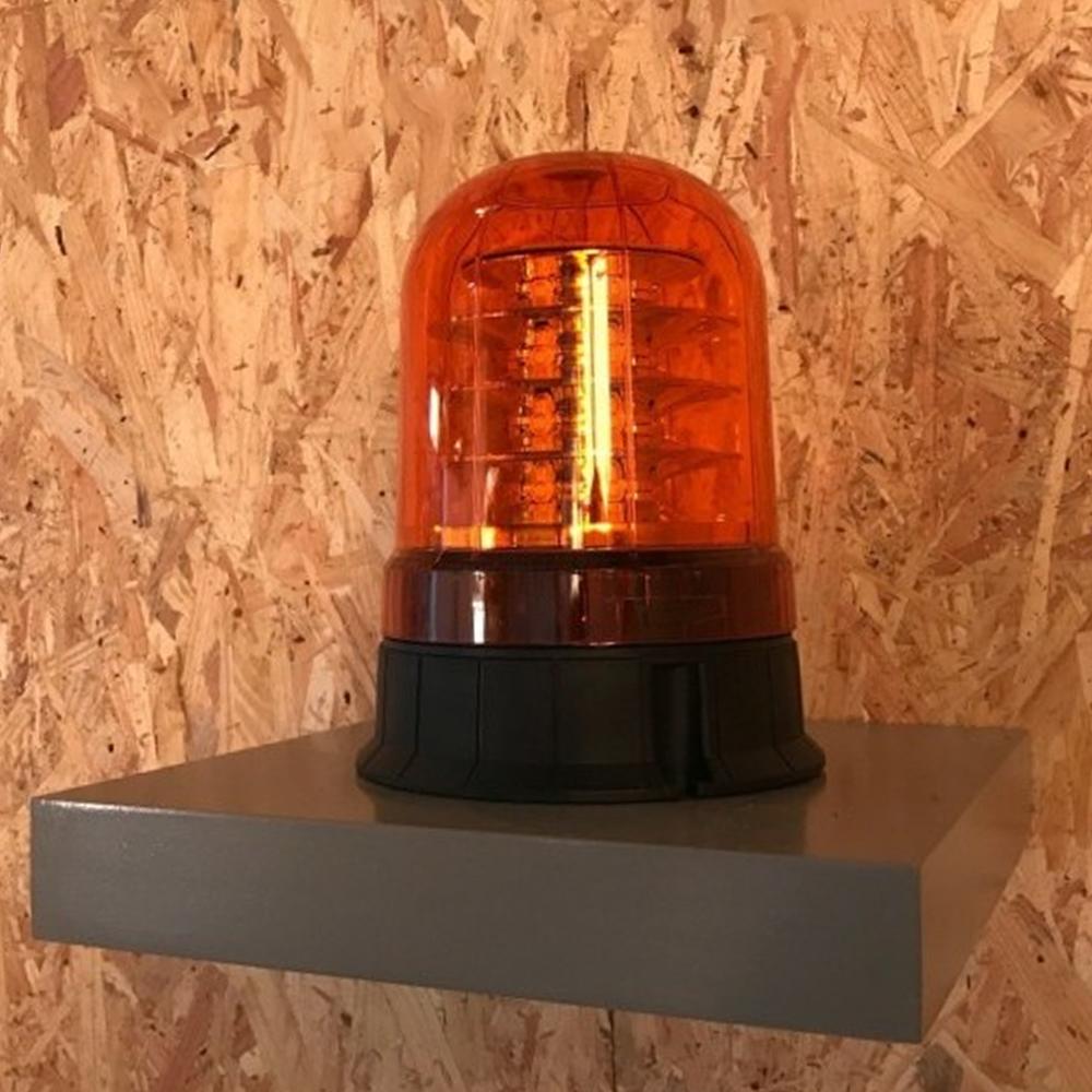 Gyrophare Orange 3 Etages Leds A Poser