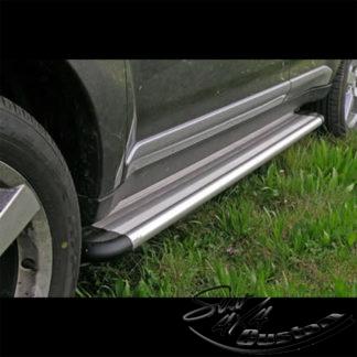 MARCHE-PIEDS S50 ALUMINIUM SUR MITSUBISHI OUTLANDER 2007-2010