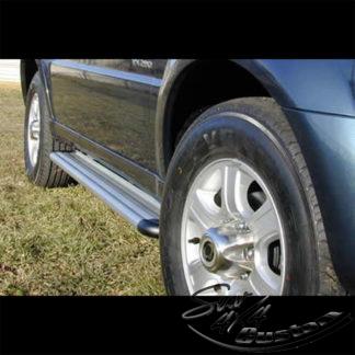 MARCHE-PIEDS S50 ALUMINIUM SUR SSANGYONG REXTON 2001+