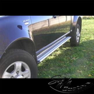 MARCHE-PIEDS S50 ALUMINIUM SUR TATA XENON (DOUBLE CAB)