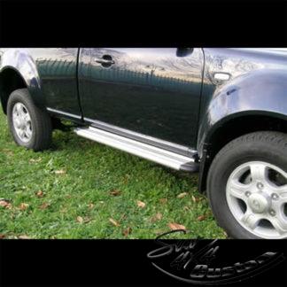 MARCHE-PIEDS S50 ALUMINIUM SUR TATA XENON (SINGLE CAB)