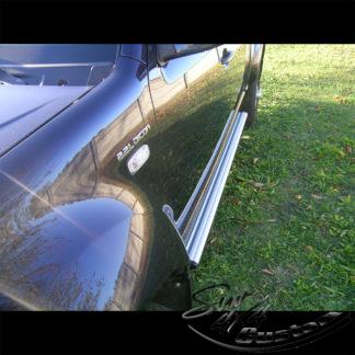 PROTECTION LATERALE (ALUMINIUM) S110 SUR TATA XENON (DOUBLE CAB)