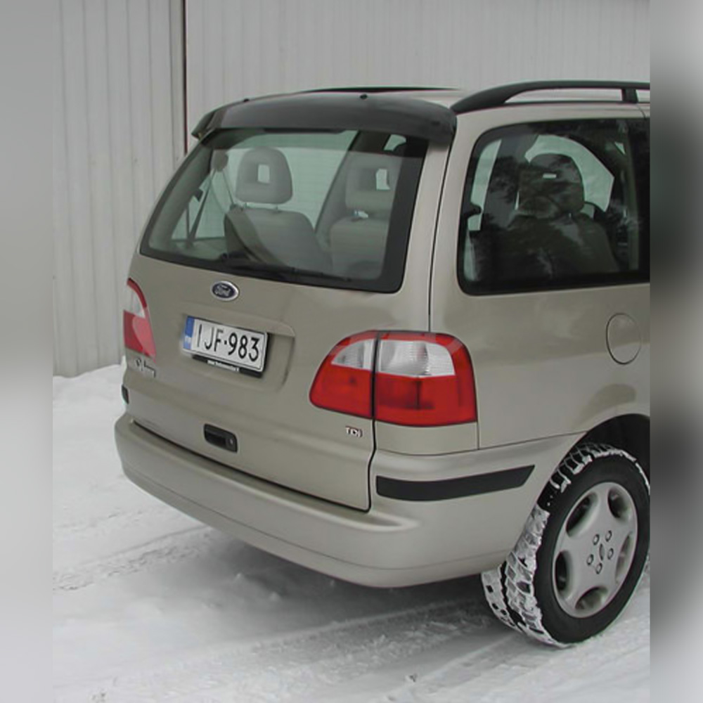 VISIÈRE ARRIÈRE ACRYLIQUE SUR SEAT ALHAMBRA 1996-2006