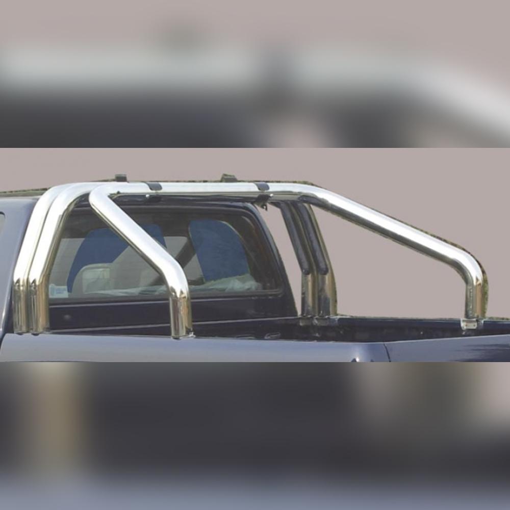 ARCEAU DE BENNE INOX DOUBLE TUBE SUR MAZDA BT50 DOUBLE CAB 2009-2012