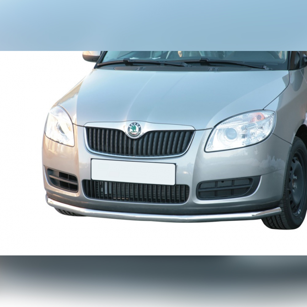 BARRE SOUS PARE-CHOC INOX SUR SKODA ROOMSTER 2007-2015