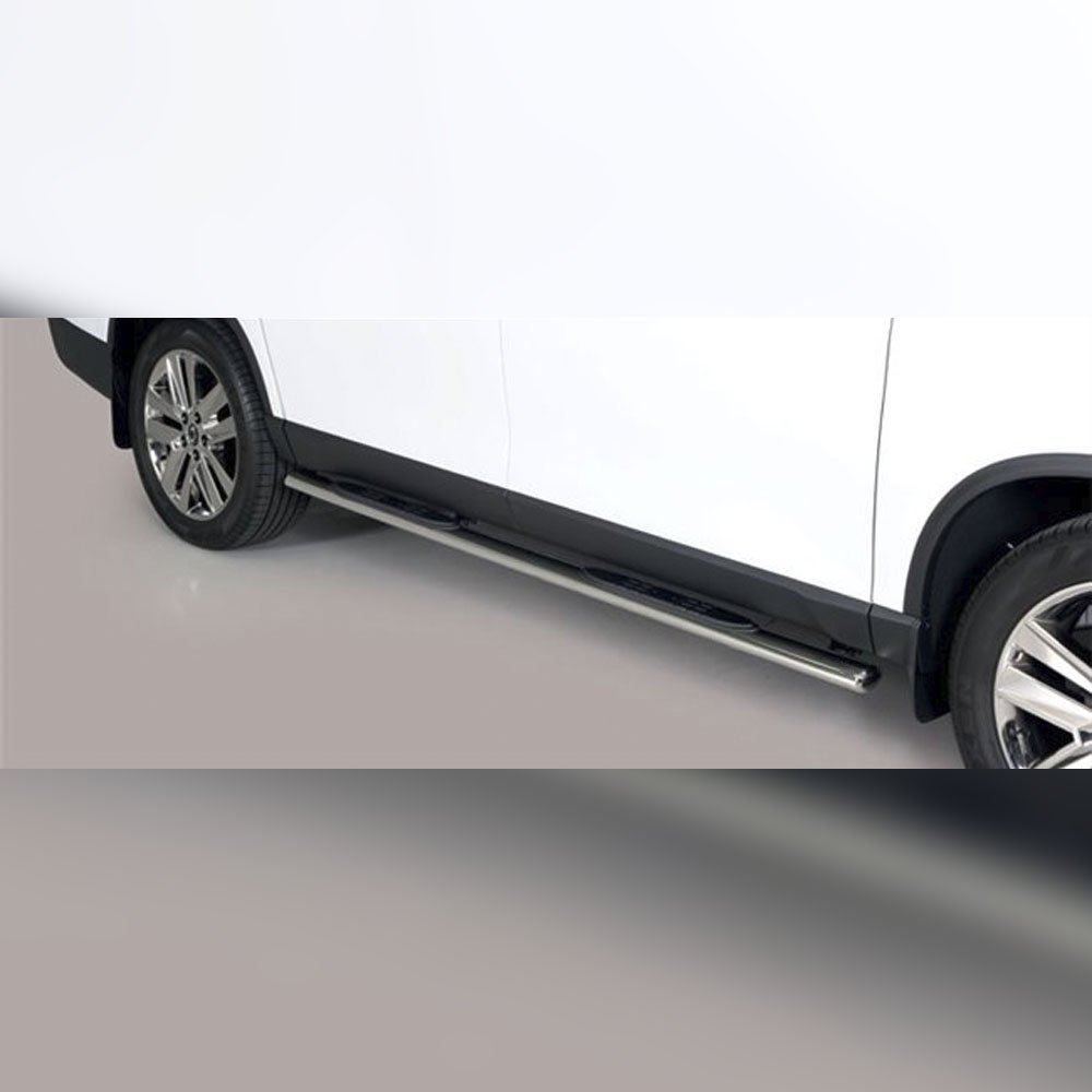 MARCHE-PIEDS GPO INOX SUR SSANGYONG MUSSO 2018+