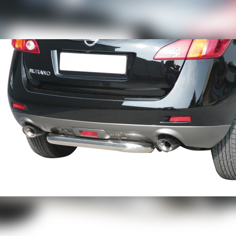 PROTECTION ARRIERE INOX SUR NISSAN MURANO 2008-2014
