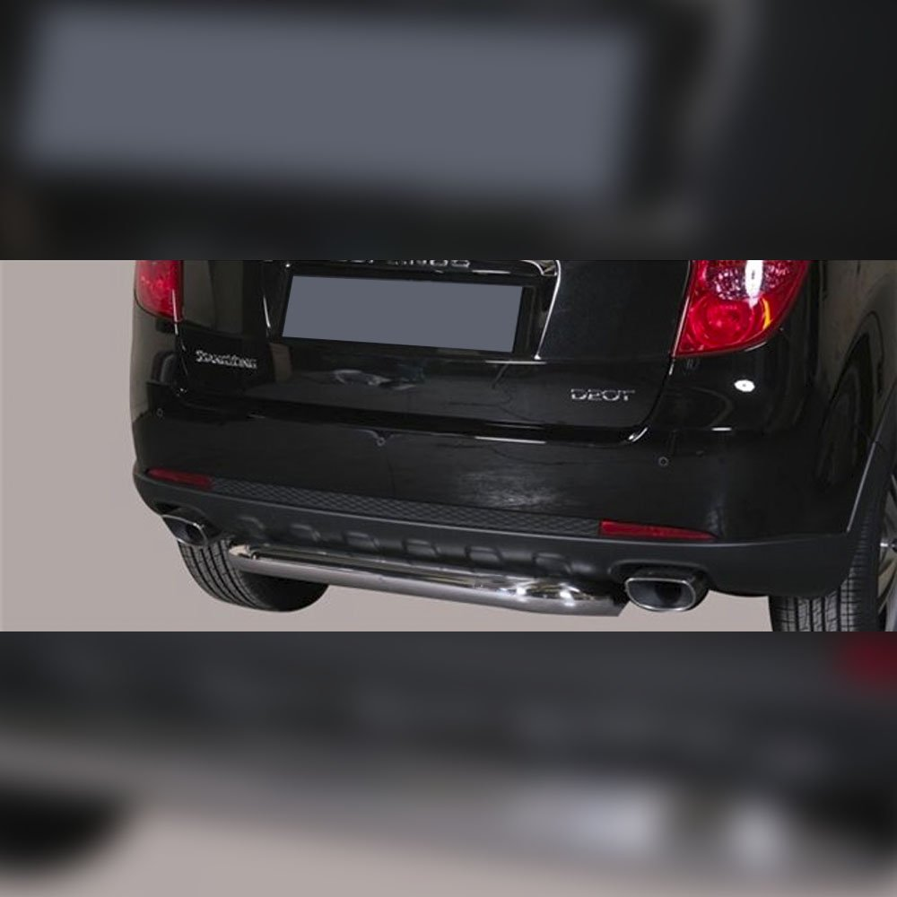 PROTECTION ARRIERE INOX SUR SSANGYONG KORANDO 2011-2019