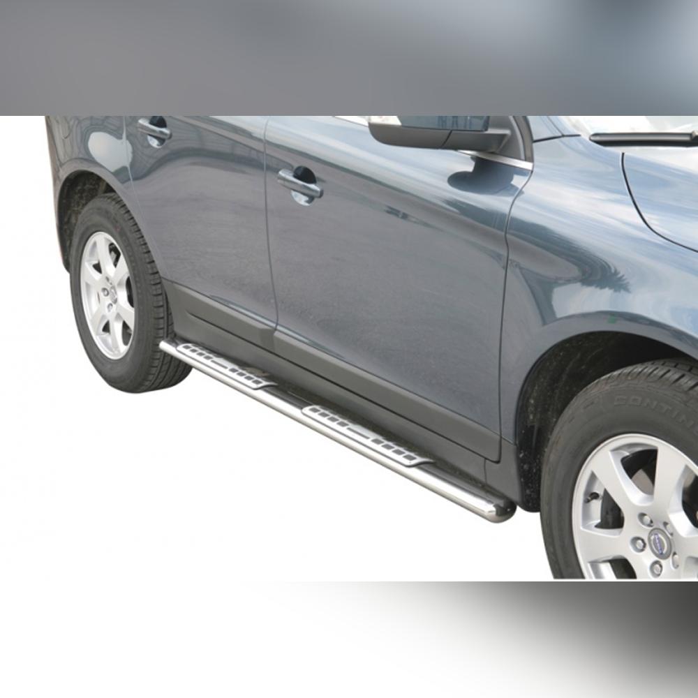 MARCHE-PIEDS DSP INOX SUR VOLVO XC60 2014-2017